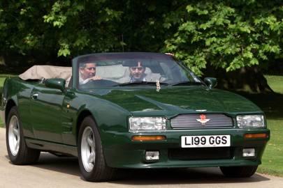 Prince Charles Aston Martin Virage Volante For Sale At Bonhams Tatler