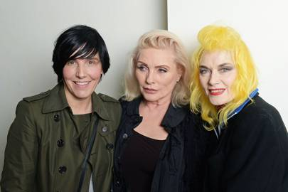 Sharleen Spiteri, Pam Hogg and Debbie Harry