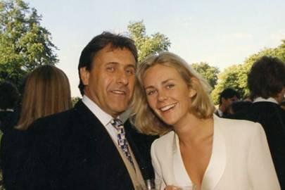 Christopher Leigh-Pemberton and Viscountess Folkestone