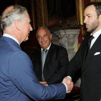 The Prince of Wales and Tom Ford