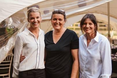 Viscountess Hinchingbrooke, Fiona Moore and Pippa Babcock