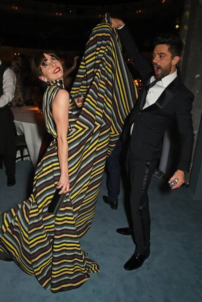 Ophelia Lovibond and Dominic Cooper