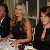 Richard Caring, Amanda Wakeley and Tracey Emin