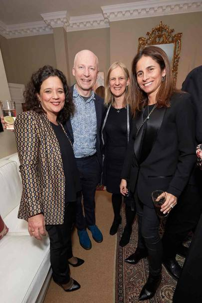Cristina Fuentes La Roche, Marcus du Sautoy, Rebecca Eastmond and Adriana Buckley