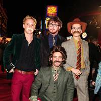 Francis Boulle, Oliver Proudlock, Spencer Matthews and Jamie Laing
