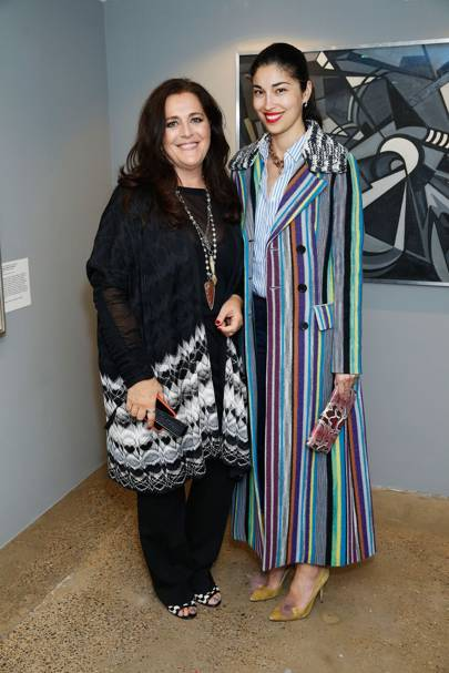 Angela Missoni and Caroline Issa