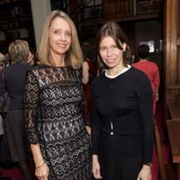 Sabrina Guinness and Lady Sarah Chatto