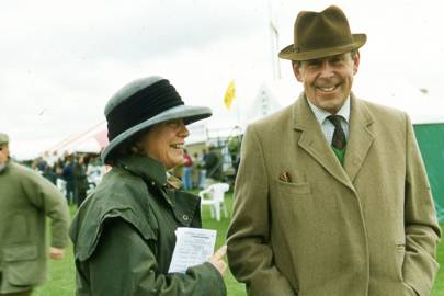 Mrs John Fernall and Sir Watkin Williams-Wynn