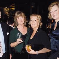 Jeremy Palmer-Tomkinson, Mrs Jeremy Palmer-Tomkinson, Mrs Martin Lane Fox and the Hon Mrs Tim Steel