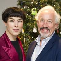 Olivia Williams and Simon Callow