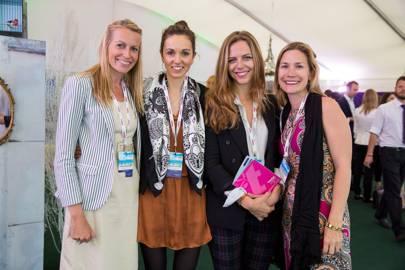 Lianne Shaw-Gray, Emma Mason, Coralie Schwartz and Jessica Chastenson