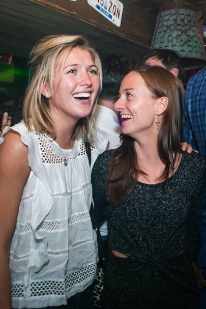 Lucie Lambert and Laura McGowan