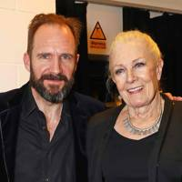 Ralph Fiennes and Vanessa Redgrave