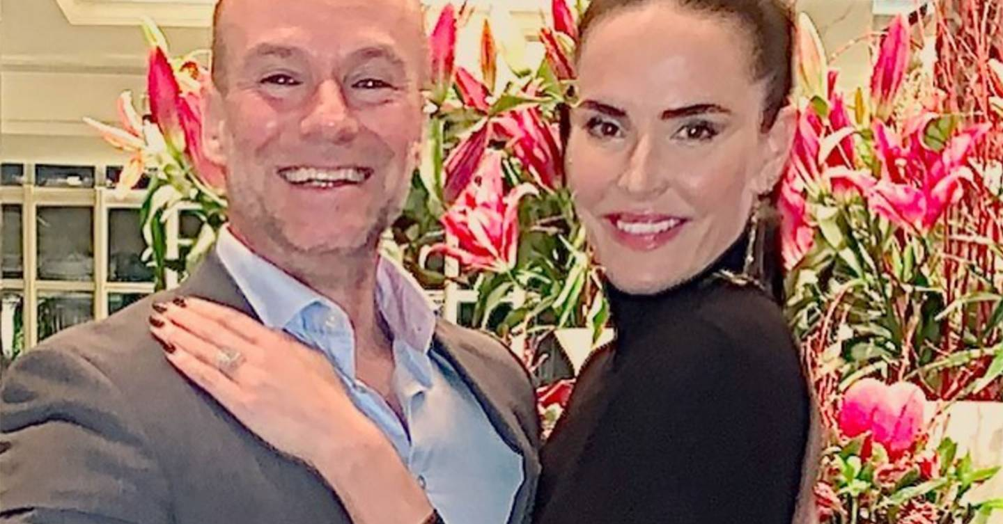 '90s It girl Sophie Anderton engaged to Count Kaz Balinski-Jundzill