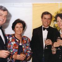 David Webb-Carter, Mrs Andrew Muir, Andrew Muir and Mrs David Webb-Carter