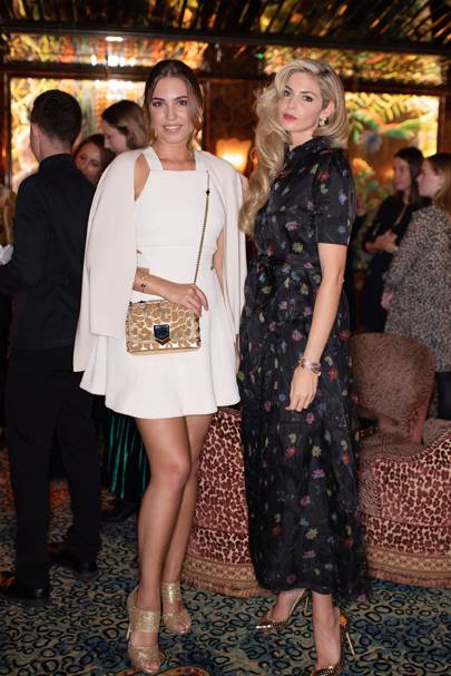 Amber Le Bon and Tamsin Egerton