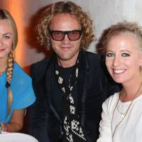 Jenna Courtin-Clarins, Peter Dundas and Sophia Hesketh