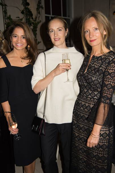Katy Wickremesinghe, Polly Morgan and Martha Ward