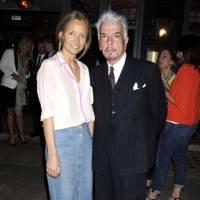Martha Ward and Nicky Haslam