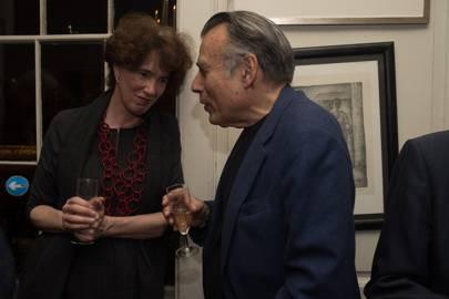Susannah Herbert and Arthur Miller
