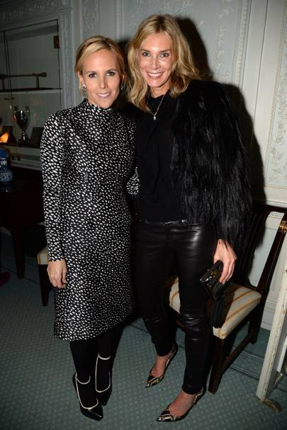 Tory Burch and Kim Hersov