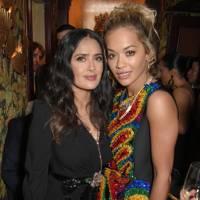 Salma Hayek and Rita Ora