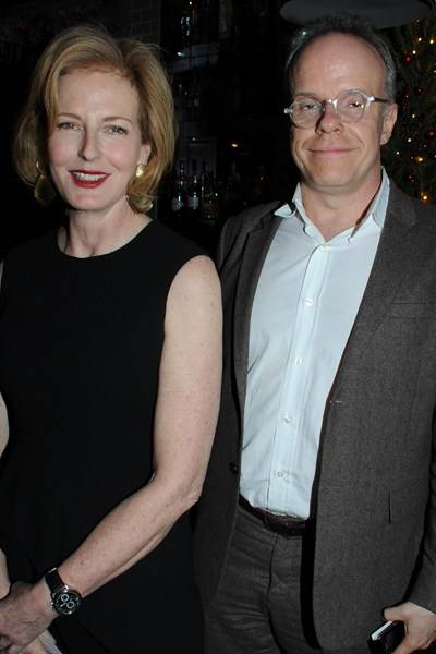 Julia Peyton-Jones and Hans Ulrich Obrist