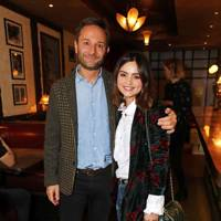 Jeremy Langmead and Jenna Coleman