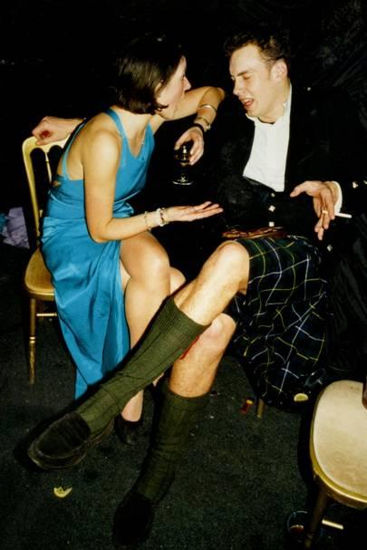 Lucinda Henderson and Andrew Douglas
