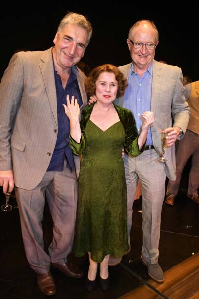 Jim Carter, Imelda Staunton and Jim Broadbent