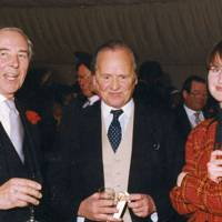 David Wentworth-Stanley, Christopher Philipson and Joanna Lascelles