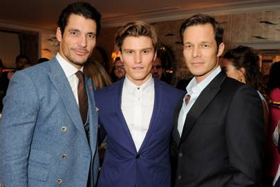 David Gandy, Oliver Cheshire and Paul Sculfor