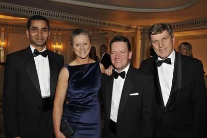 Sandeep Gauravaram, Dee Deacon, Mike Marshall and Brough Scott
