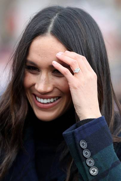 2017 - The Duchess of Sussex's engagement ring