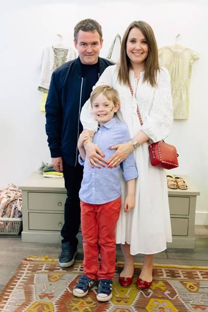 John Schifano, Alexander Schifano and Clare Schifano