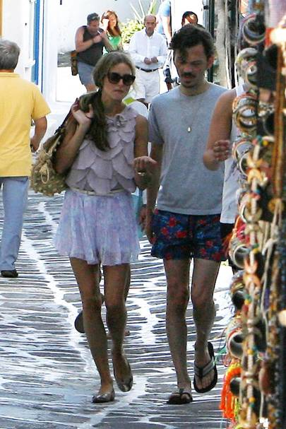 Olivia Palermo and Matthew Williamson