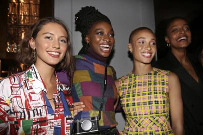 Iris Law, Little Simz, Adwoa Aboah and Kesewa Aboah