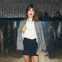 Jeanne Damas at the Isabel Marant show.