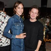 Alexa Chung and Christopher Kane
