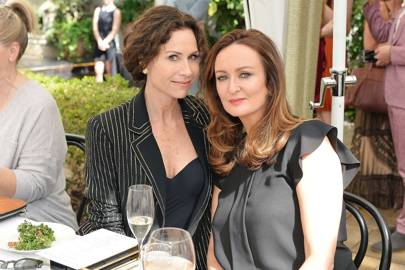 Minnie Driver and Lucy Yeomans