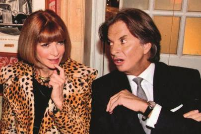 Anna Wintour and Richard Caring