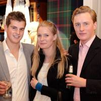 William Askew, Lara Machperson and Max Archibald