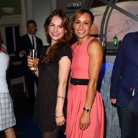 Lily James and Jessica Ennis