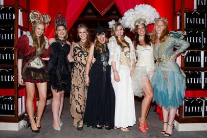 Teddy Wolstenholme, Hannah Stacpoole, Tori Barley, Ella Baldwin, Olivia Bennett, Natasha Callin and Celia Thursfield