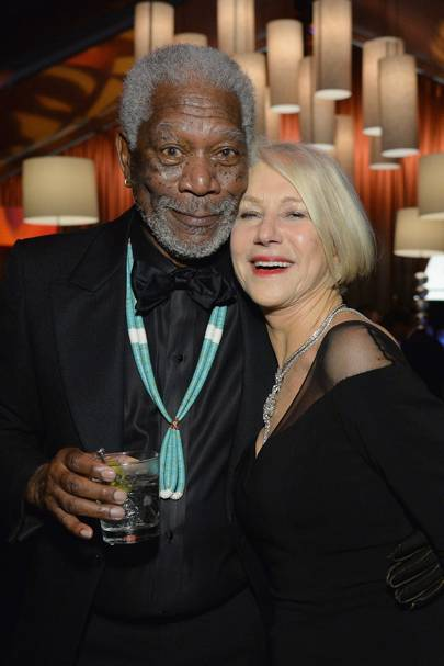 Morgan Freeman and Dame Helen Mirren