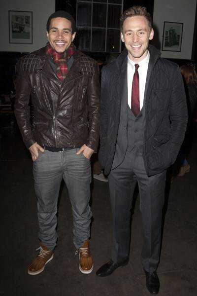 John McMillan and Tom Hiddleston