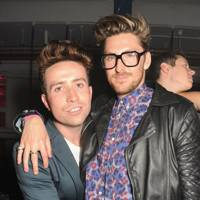 Nick Grimshaw and Henry Holland