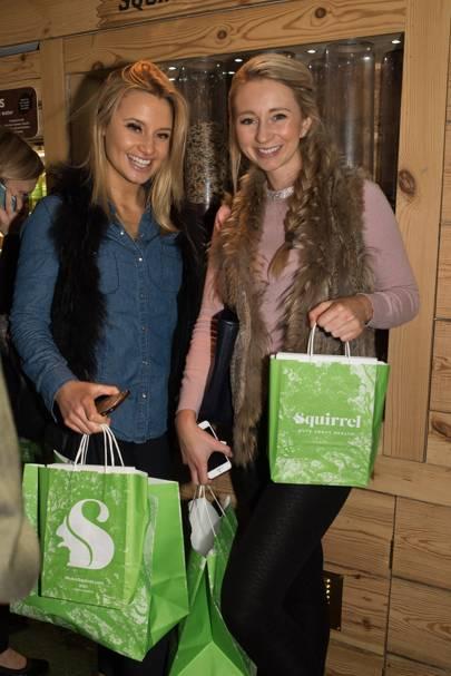 Tessa Seward and Rhiannon Lambert