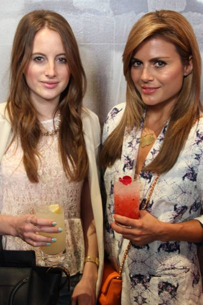 Rosie Fortescue and Zoe Hardman