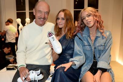 Stan Smith, Stella McCartney and Lady Mary Charteris